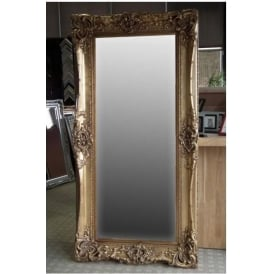 Gold Floorstanding Antique French Style Mirror