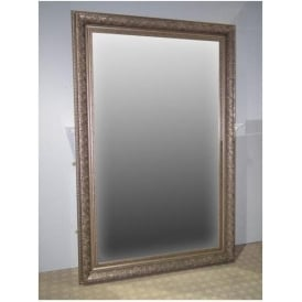 Silver Antique French Style Floorstanding Mirror