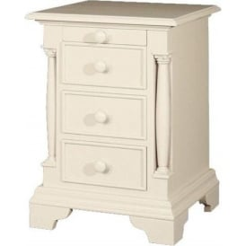 Canterbury Antique French Style Bedside Cabinet
