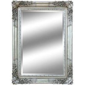 Silver Antique French Style Mirror