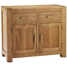 Chunky Oak 2 Door Sideboard