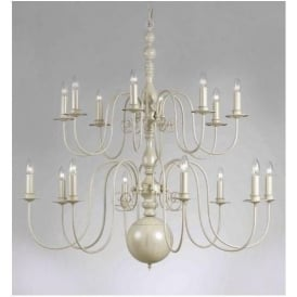 Cream Antique French Style Pendant Light 2