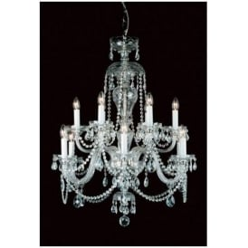Antique French Style Crystal Pendant Light 14