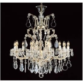 Antique French Style Crystal Pendant Light 17