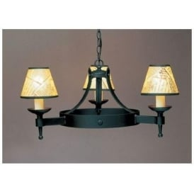 Saxon Matt Black Pendant Light