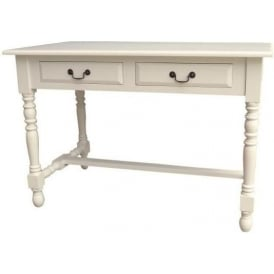 Ivory Antique French Style Console Table