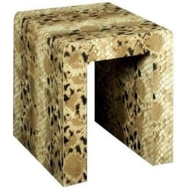 The Snake Side Table or Stool