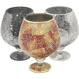 Mosaic Glass Hurricane (Large)