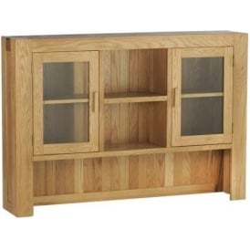 Chunky Oak Large Hutch