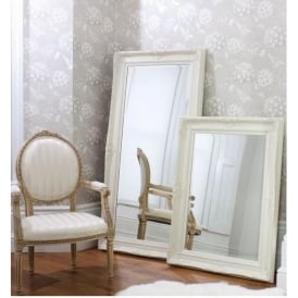 Harrow Leaner Cream Floorstanding Mirror