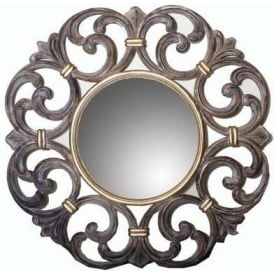 Wooden Carved Antique French Style Mirror