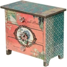 Vintage Antique French Style Small Drawers