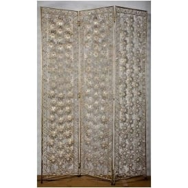 Gold Jewelled Antique French Style Screen