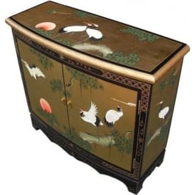 Gold Leaf Chinese Cabinet