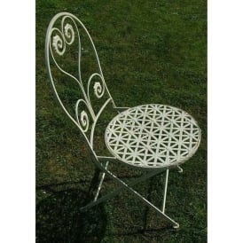 Antique French Style Garden Chair