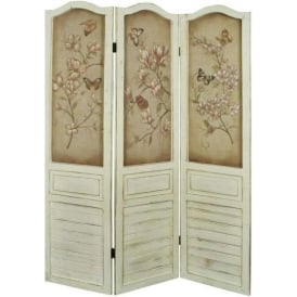 Wooden Shabby Chic Screen