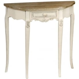 Country Farmhouse Antique French Style Hall Table