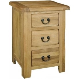 Montana 3 Drawer Bedside