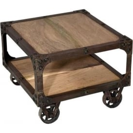 Shabby Chic Industrial Coffee Table