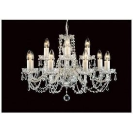 Antique French Style Crystal Pendant Light 11