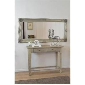 Extravagant Ornate Antique French Style Wall Mirror