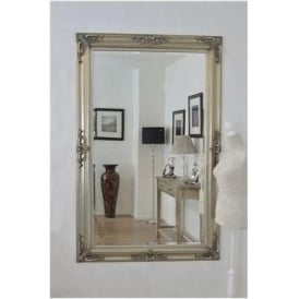 Large Ornate Antique French Style Wall Mirror