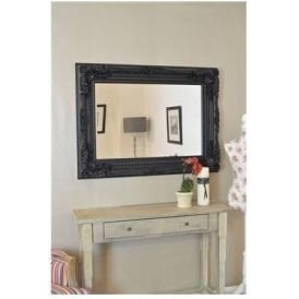 Ornate Antique French Style Wall Mirror