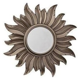 Ant Silver Sunrays Mirror