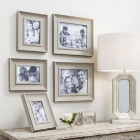 Set Of 5 Edgewood Scatter Frames Set