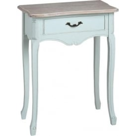 Duck Egg Shabby Chic Bedside Table