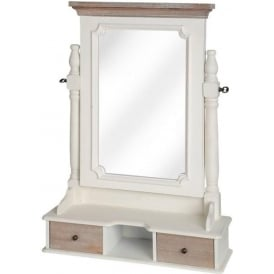 Pavilion Antique French Style Table Mirror