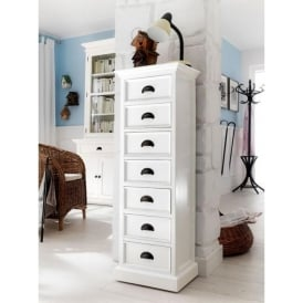 Whitehaven Shabby Chic Tallboy Chest