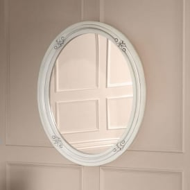 Victorian Antique French Style Wall Mirror