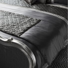 Charcoal Deco Bed Runner