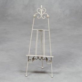 White Small Antique French Style Easel