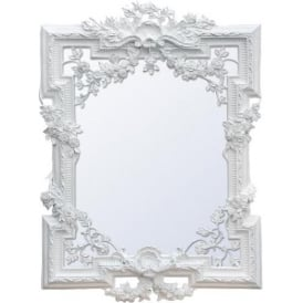 Francesca Antique French Style Mirror