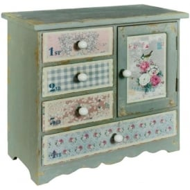 Floral Shabby Chic Chest