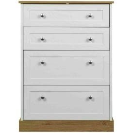 Beijing 4 Drawer Deep Chest