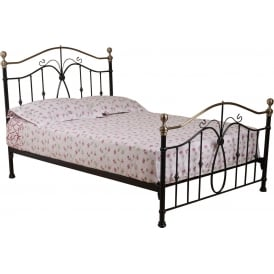 Black Carnival Metal Bed