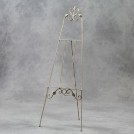 White Metal Antique French Style Easel
