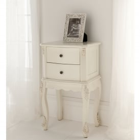 Antique French Style Bedside Table