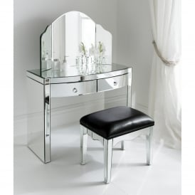 Florence Mirrored Dressing Table Set