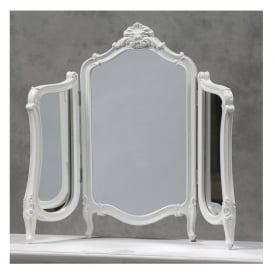 Regency Antique French Style Table Mirror