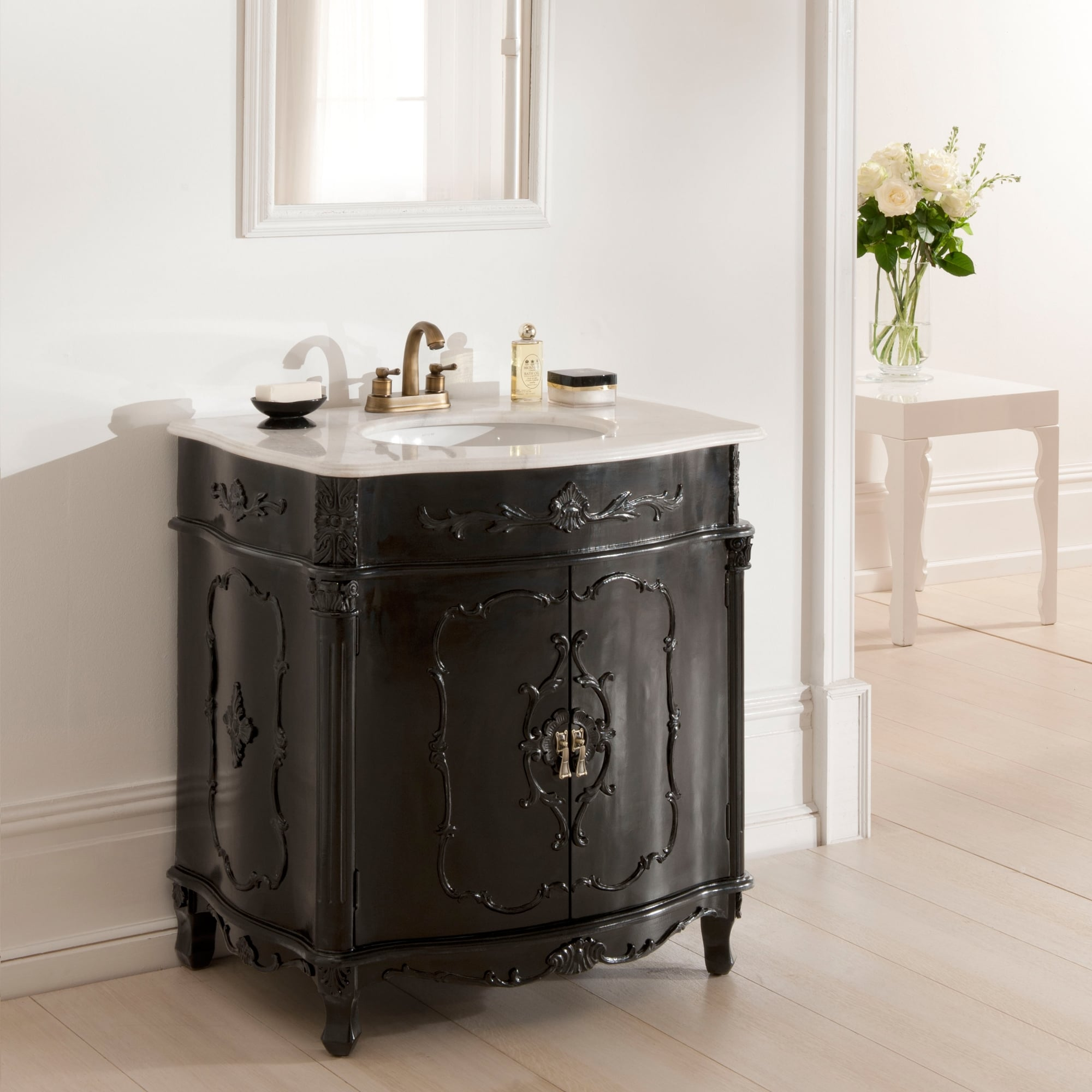 Antique french vanity unit is a fantastic addition to our award winning furniture for Antique bathroom vanity units