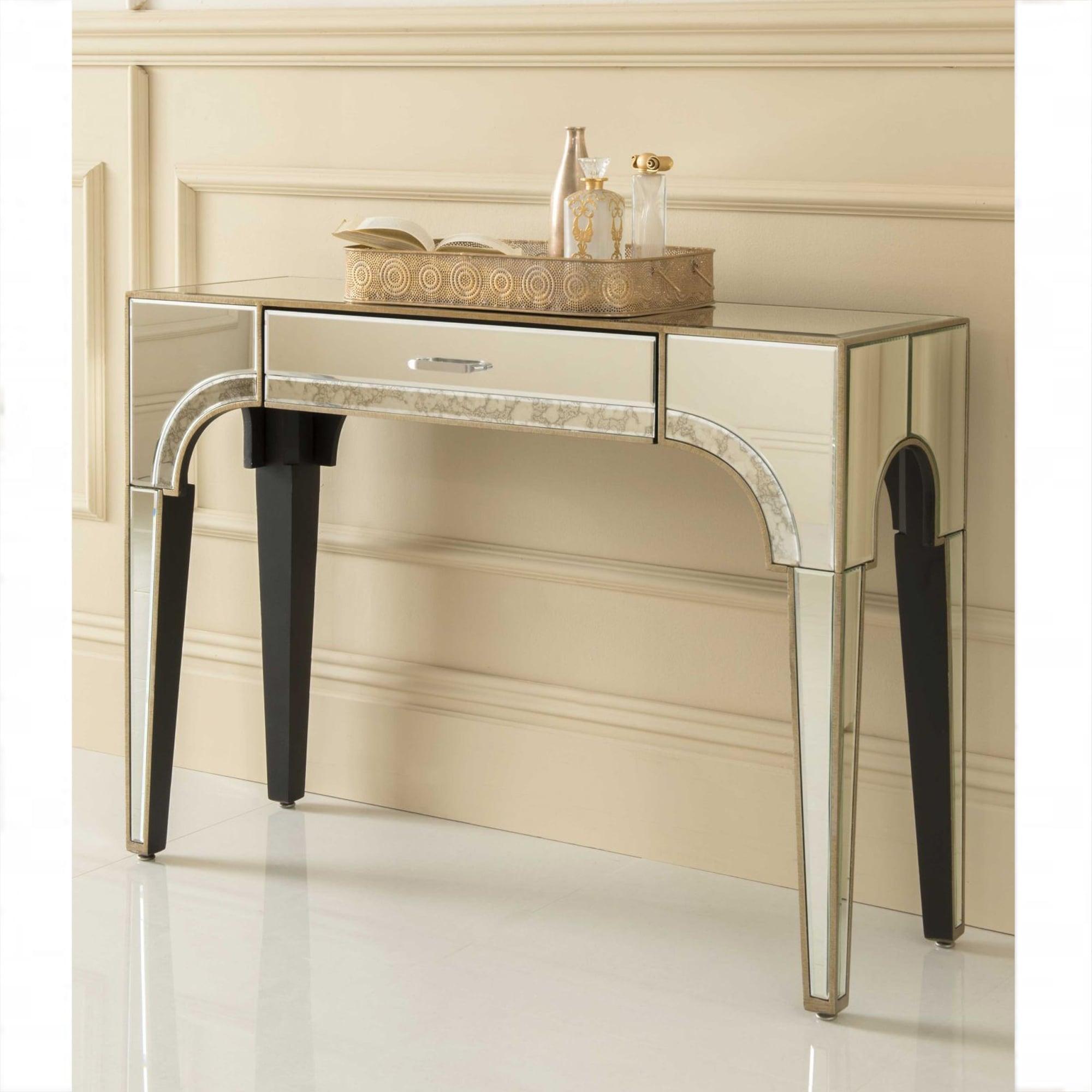 Sassari Mirrored Console Table Venetian Glass Furniture