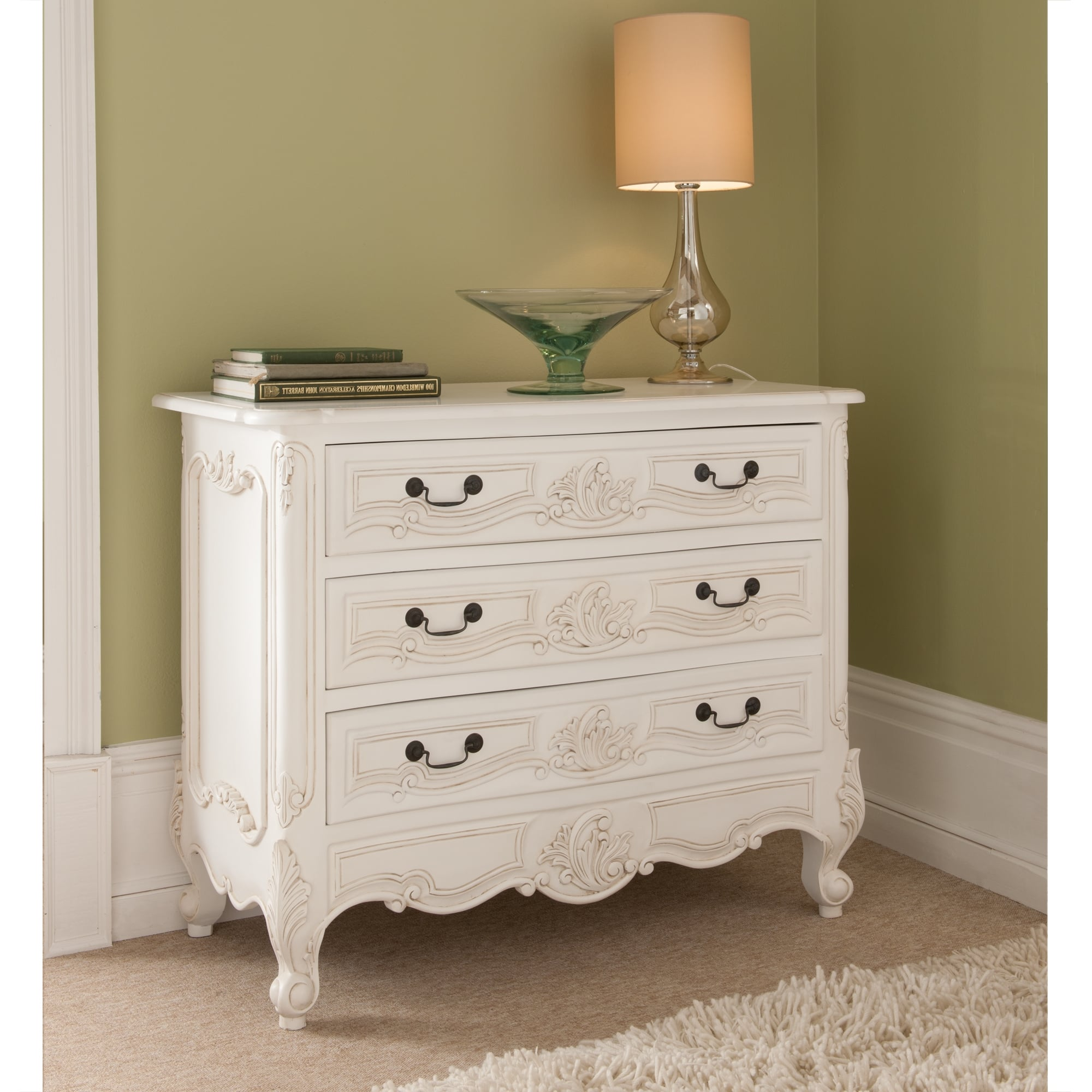 Rococo antique french chest of drawers french bedroom for Furniture 365 direct