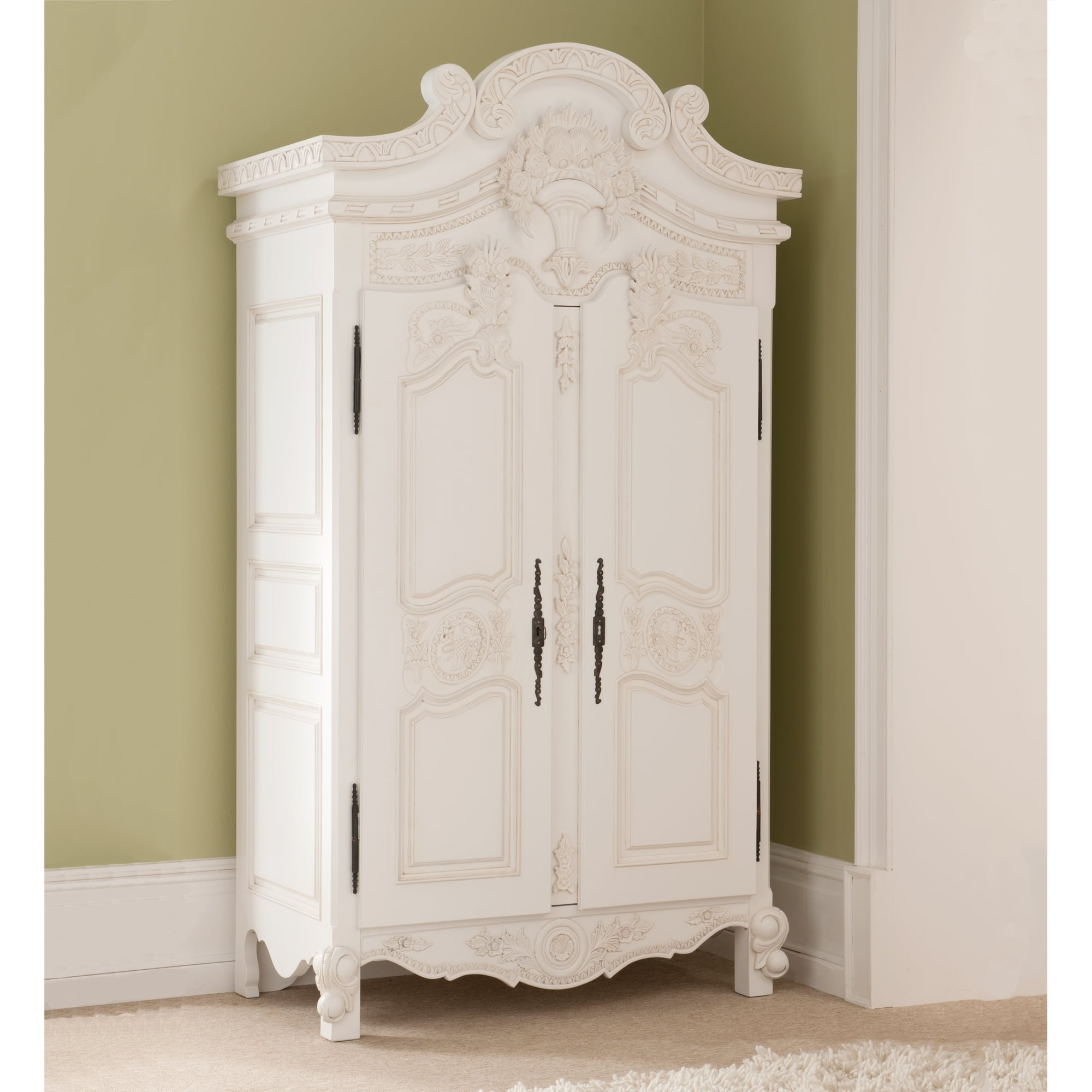 Rococo antique french wardrobe a stunning addition to our for French rococo style