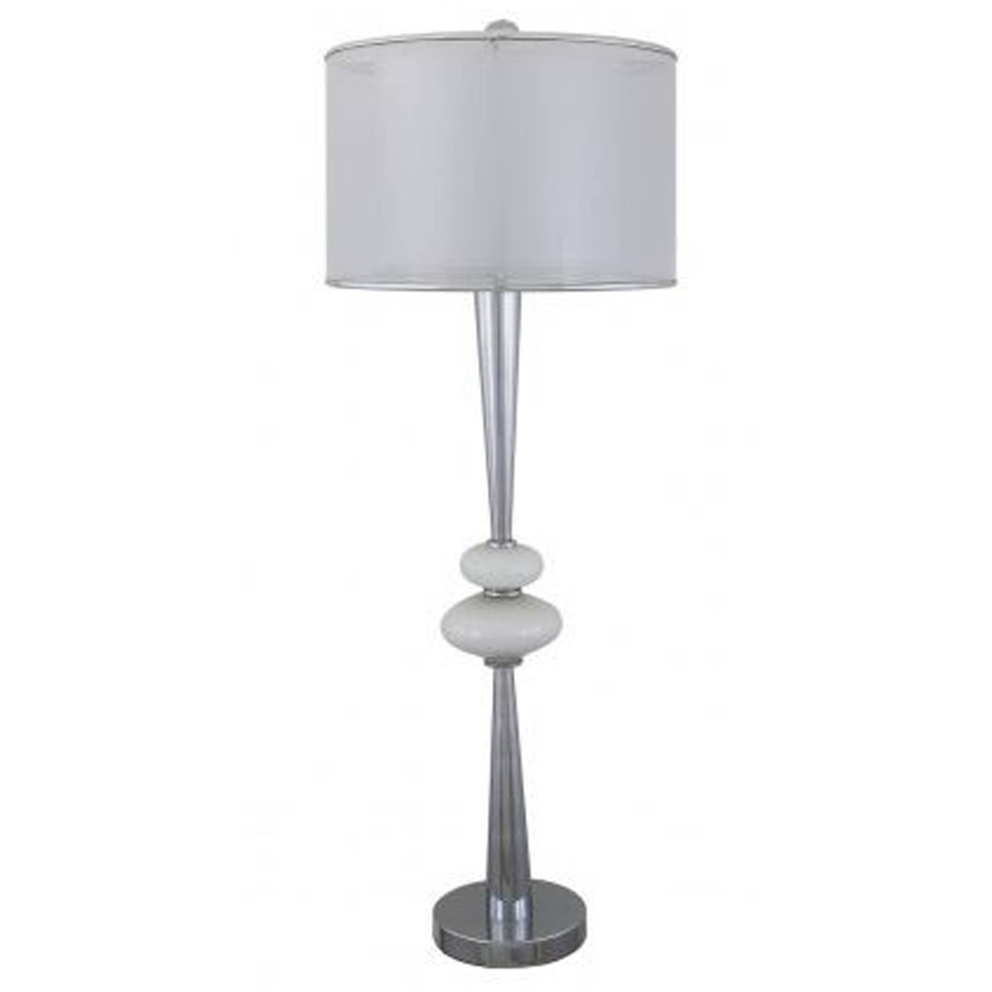 Pure white pearl pebble table lamp lamp homesdirect365 pure white pearl pebble table lamp aloadofball Choice Image