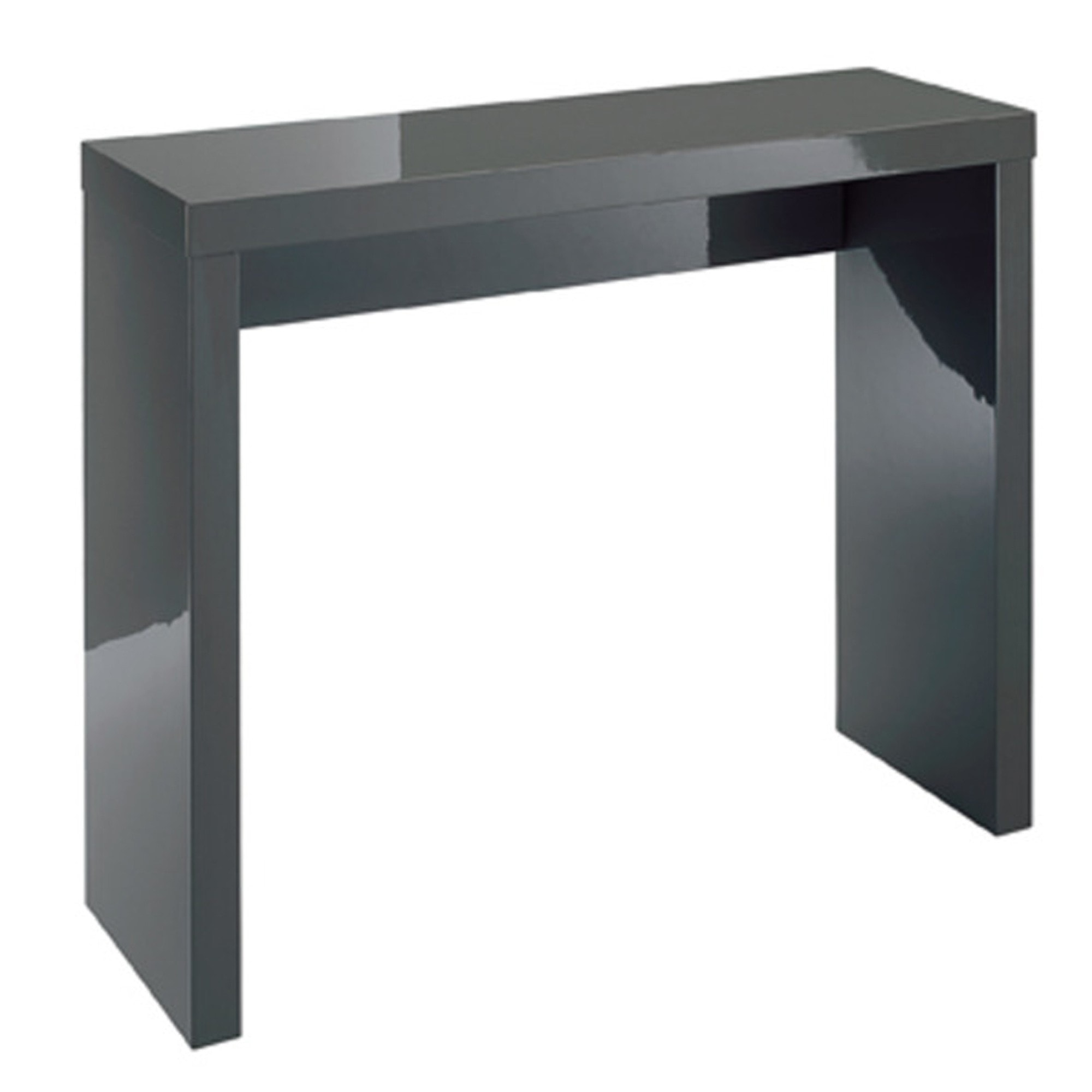 Remarkable Puro Charcoal Console Table Squirreltailoven Fun Painted Chair Ideas Images Squirreltailovenorg