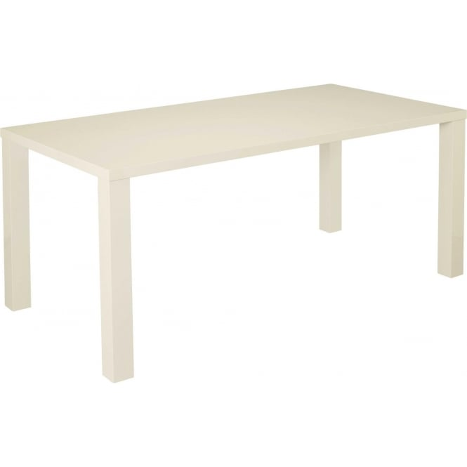 Puro cream large dining table contemporary furniture for Large modern dining table